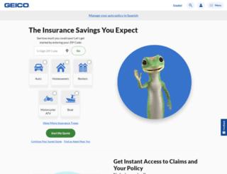 capsales.geico.com screenshot