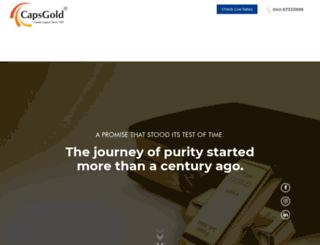 capsgold.com screenshot
