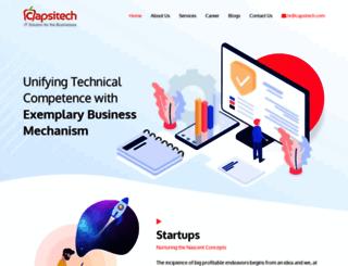 capsitech.com screenshot