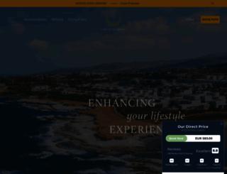 capstgeorge.com screenshot