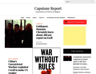 capstonereport.com screenshot