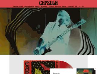 capsulacapsula.com screenshot