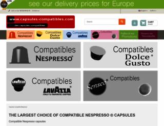 capsules-compatibles.com screenshot