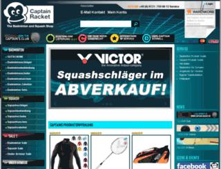 captain-racket.de screenshot