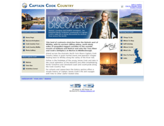 captaincook.org.uk screenshot