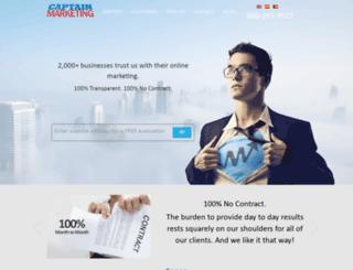 captainmarketing.com screenshot