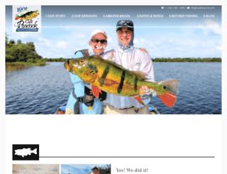 captainpeacock.com screenshot