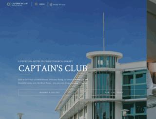 captainsclubhotel.com screenshot