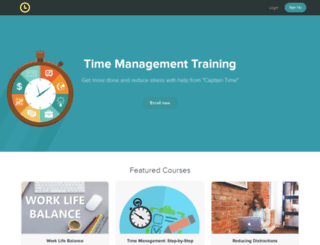 captaintime.teachable.com screenshot