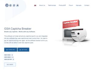 captcha-breaker.gsa-online.de screenshot