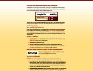 captcha.net screenshot