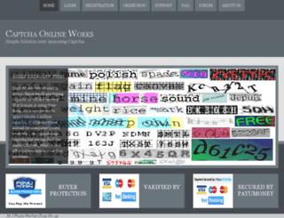 captchaonline.com screenshot
