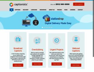 captionlabs.com screenshot