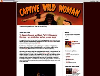 captivewildwoman.blogspot.com screenshot
