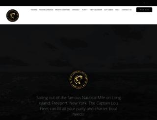 captloufleet.com screenshot