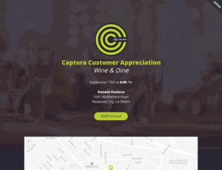 captoracustomerappreciation.splashthat.com screenshot