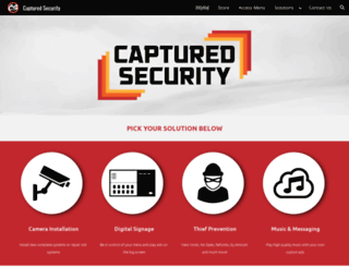 capturedsecurity.com screenshot