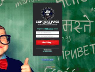 capturepagetutorial.com screenshot