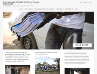 capturingcourage.org screenshot