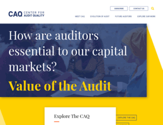 caq.org screenshot