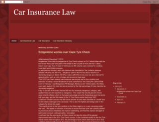 car-insurance-law.blogspot.com screenshot