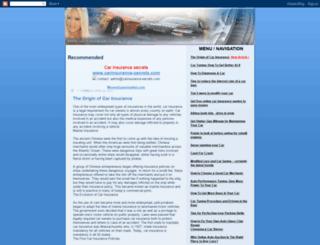 car-insurance-tuning.blogspot.com screenshot