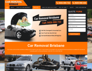 car-removal-brisbane.com.au screenshot