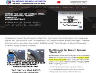 car-scratch-remover.com screenshot