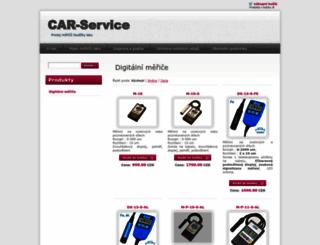 car-service.cz screenshot