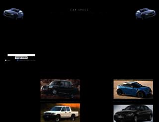 car-specs.za.net screenshot