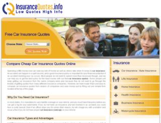 car.insurancequotes.info screenshot