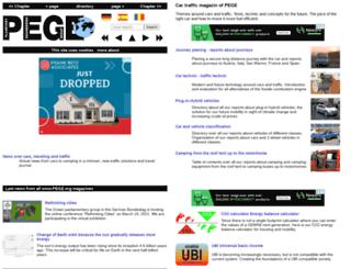car.pege.org screenshot