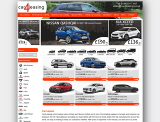 car4leasing.co.uk screenshot