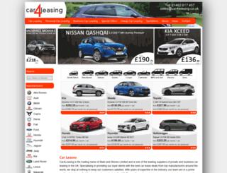 car4leasing.co.uk screenshot