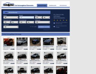car4you.at screenshot