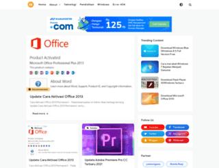 cara-aktifasi.blogspot.com screenshot