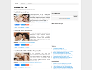 cara-dan-manfaat.blogspot.com screenshot