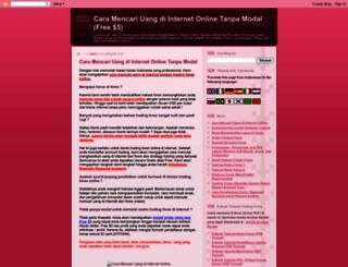 cara-mencari-uang-online.blogspot.com screenshot