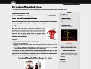 caraalamimengobatimiom.wordpress.com screenshot