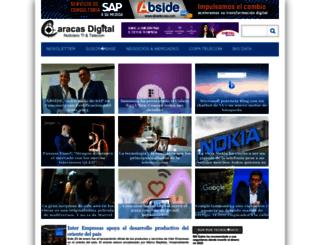 caracasdigital.com screenshot