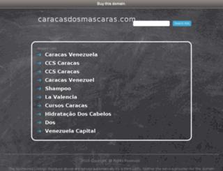 caracasdosmascaras.com screenshot