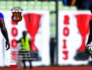 caracasfutbolclub.com screenshot