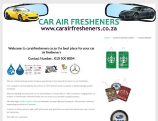 carairfresheners.co.za screenshot