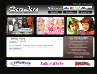 carajane.com.au screenshot