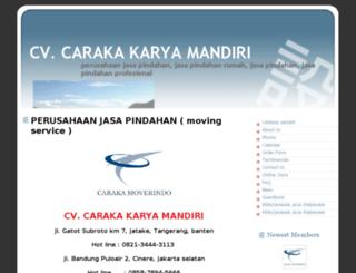 carakamover.webs.com screenshot