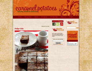caramelpotatoes.com screenshot