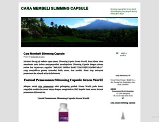 caramembelislimmingcapsule.wordpress.com screenshot
