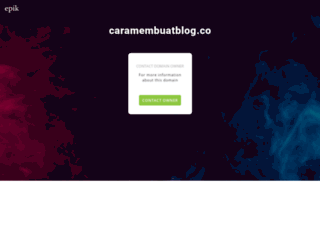 caramembuatblog.co screenshot