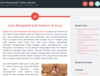 caramengobatitanpaoperasi.wordpress.com screenshot