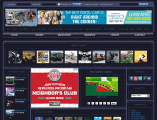 carandbikegames.com screenshot